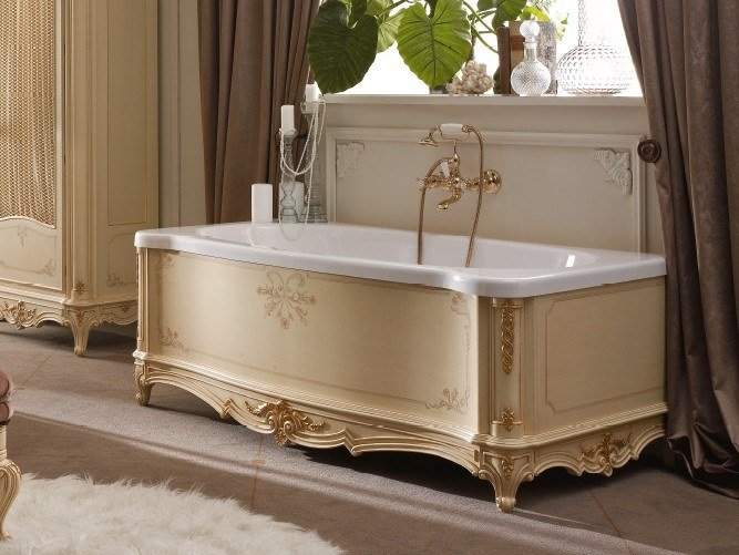 Rectangular bathtub CASA PRINCIPE | Bathtub by Valderamobili