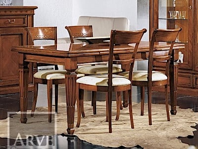Extending solid wood table CASANOVA | Table by Arvestyle