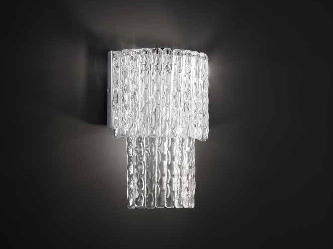 Applique in cristallo CASCADE A3 by Euroluce Lampadari