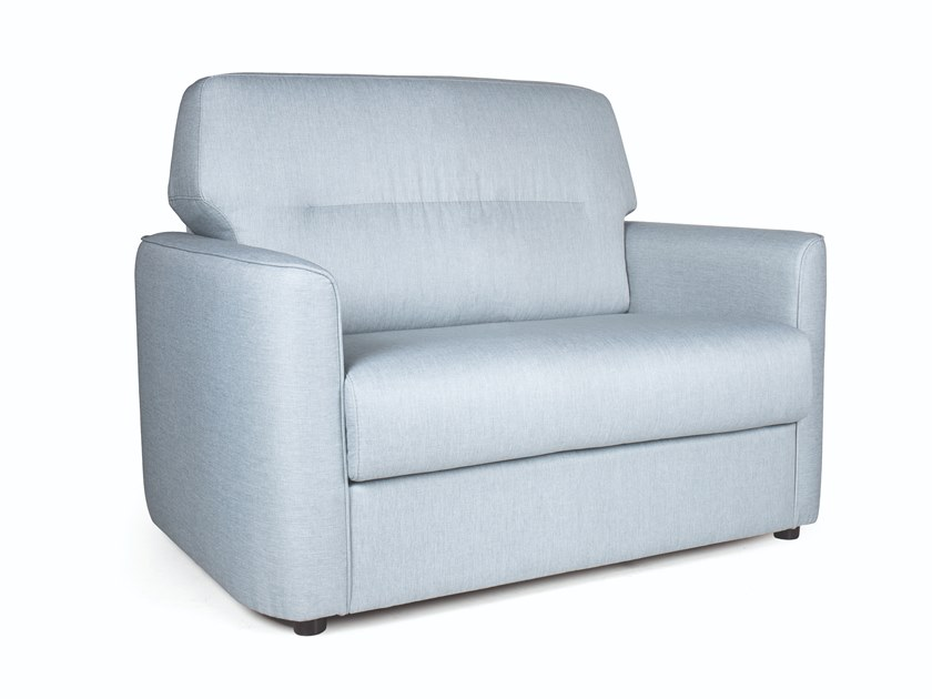 Fabric armchair with armrests CASCAIS SINGLE by Fenabel