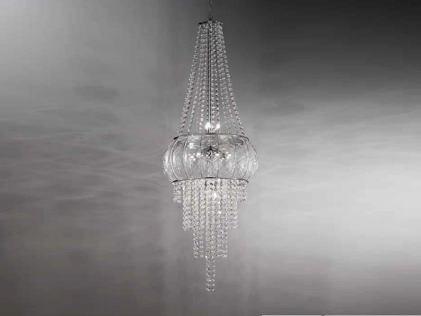 Murano glass pendant lamp CASCATA SS 366 by Siru
