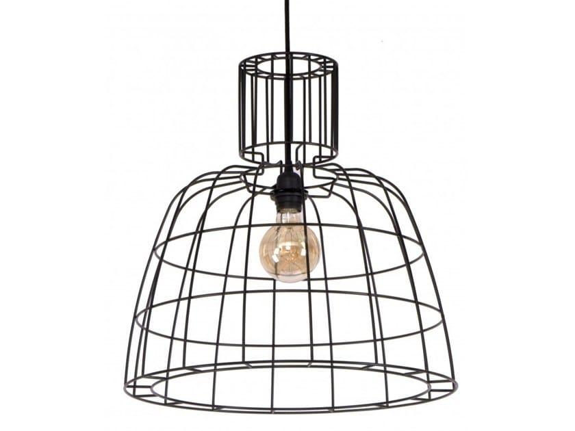 Metal pendant lamp CASELA by Flam & Luce