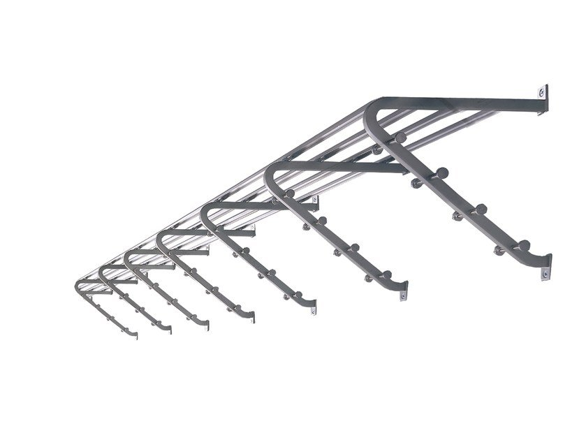 Metal coat rack / wall shelf CASSETTA by rosconi