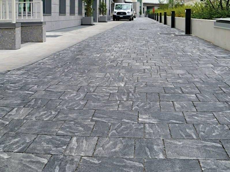 Concrete paving block CASSIA - DRENOPAV by RECORD - BAGATTINI