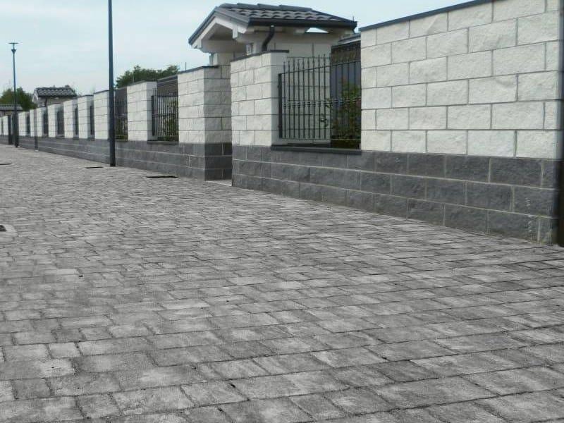 Concrete paving block CASSIA - HISTORY by RECORD - BAGATTINI