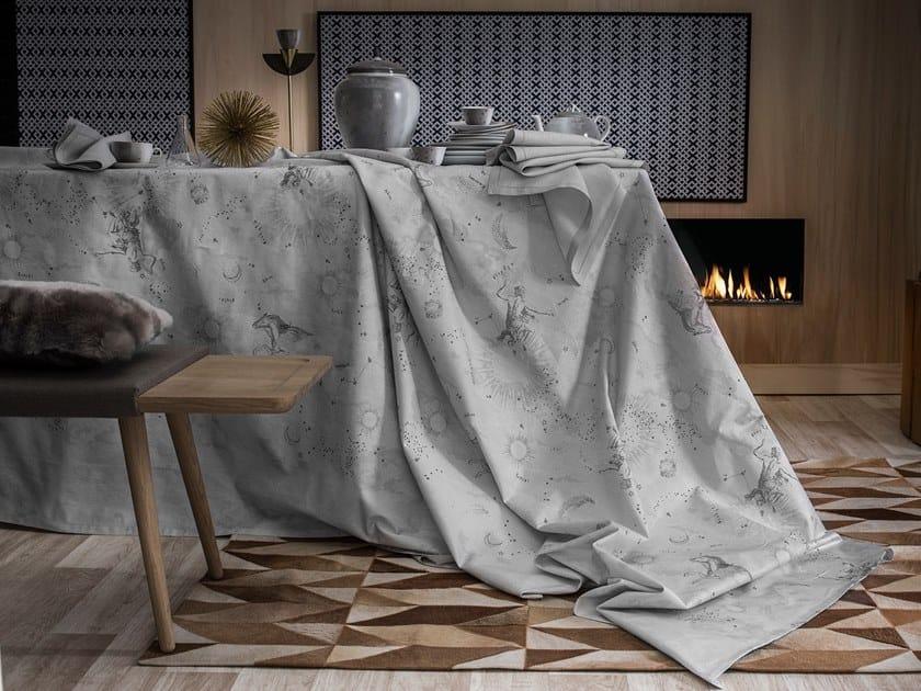 Cotton tablecloth CASSIOPÉE by Alexandre Turpault