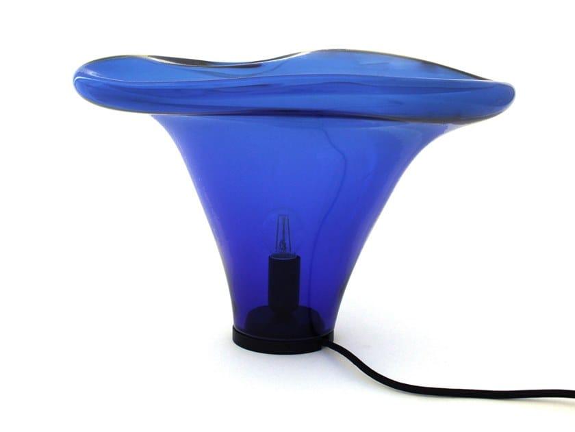 Lampada da tavolo a LED fatta a mano in vetro soffiato CASSIOPEIAE by ELOA