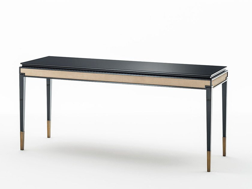 Lacquered rectangular console table CASTELLO | Console table by OAK