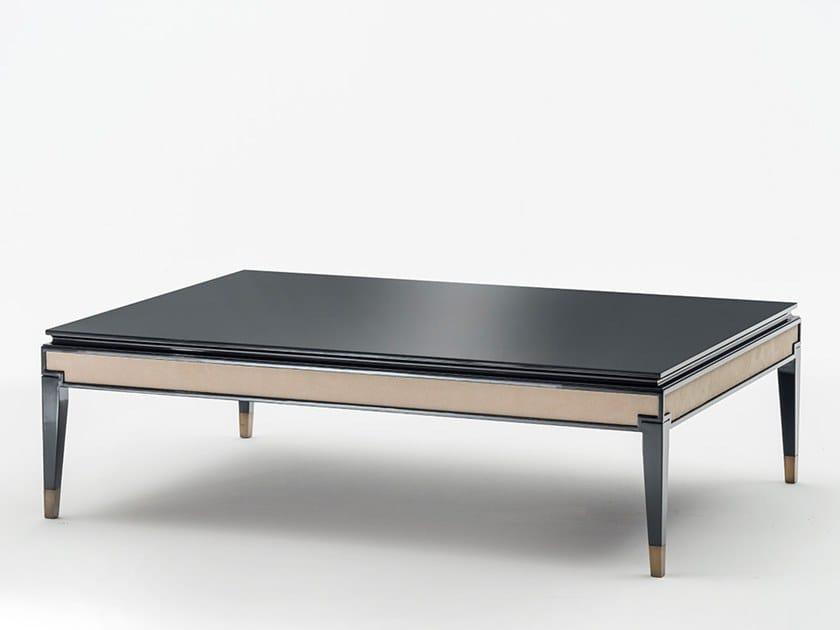 Low wooden coffee table CASTELLO | Low coffee table by OAK