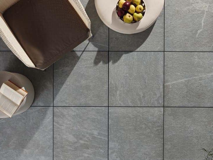 Outdoor floor tiles with stone effect COLOSSEO TOSCANO by GRANULATI ZANDOBBIO