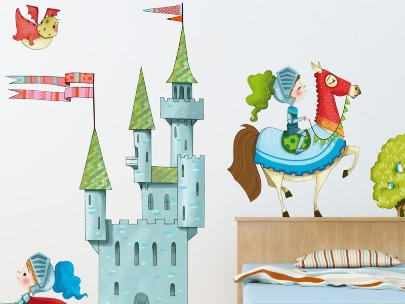 Kids wall sticker CASTLE by ACTE-DECO