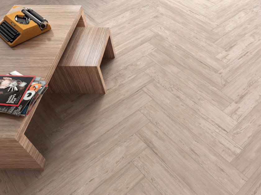 Porcelain Stoneware Wallfloor Tiles With Wood Effect Resort By