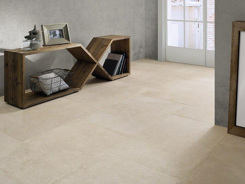 Pavimento in gres porcellanato effetto pietra castle ceramiche coem - Piastrelle in gres porcellanato effetto pietra ...