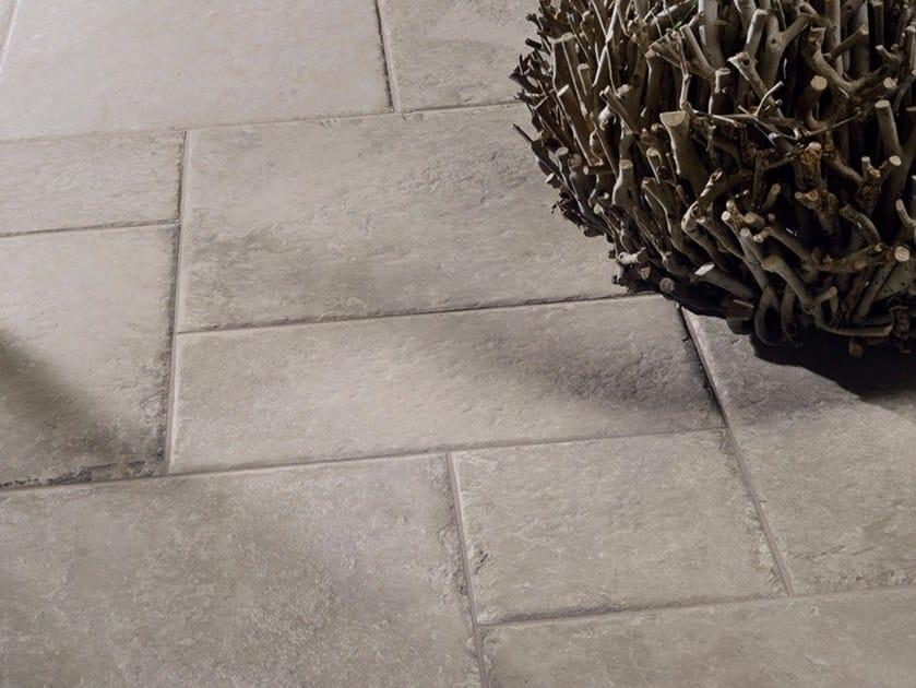 Pavimento in gres porcellanato effetto pietra castle ceramiche coem
