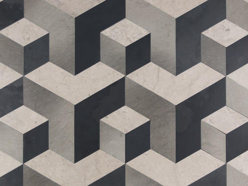 Indoor slate wall/floor tiles CASTLE by Palazzo Morelli