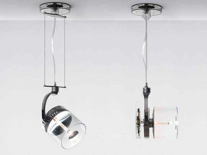LED die cast aluminium pendant lamp CATA CATADIOPTRIC | Pendant lamp by Artemide