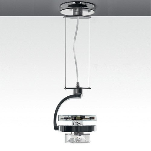 LED swivel die cast aluminium pendant lamp CATA TIR | Pendant lamp by Artemide