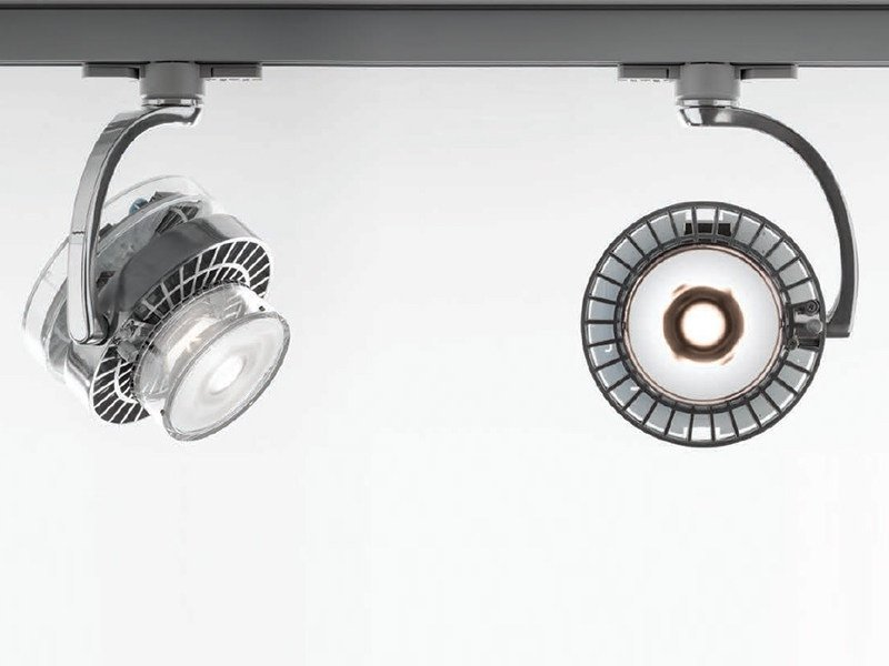 LED die cast aluminium Track-Light CATA TIR | Track-Light by Artemide