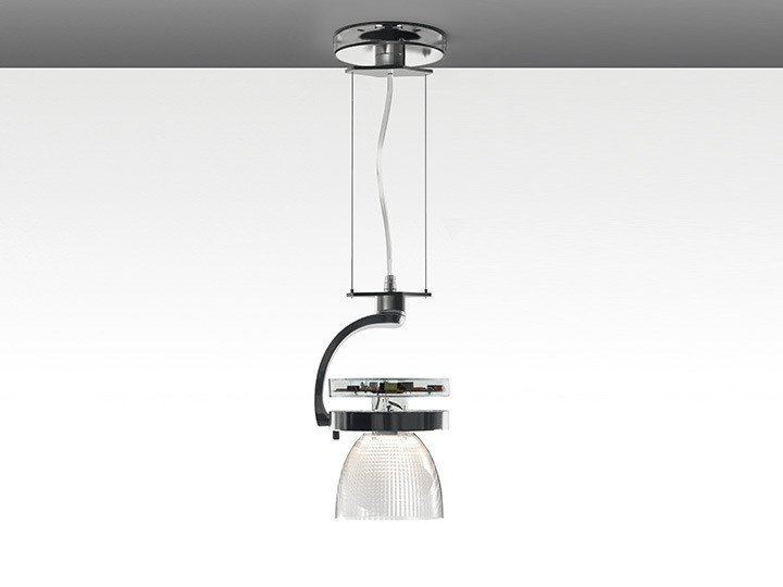 LED die cast aluminium pendant lamp CATA WIDE | Pendant lamp by Artemide