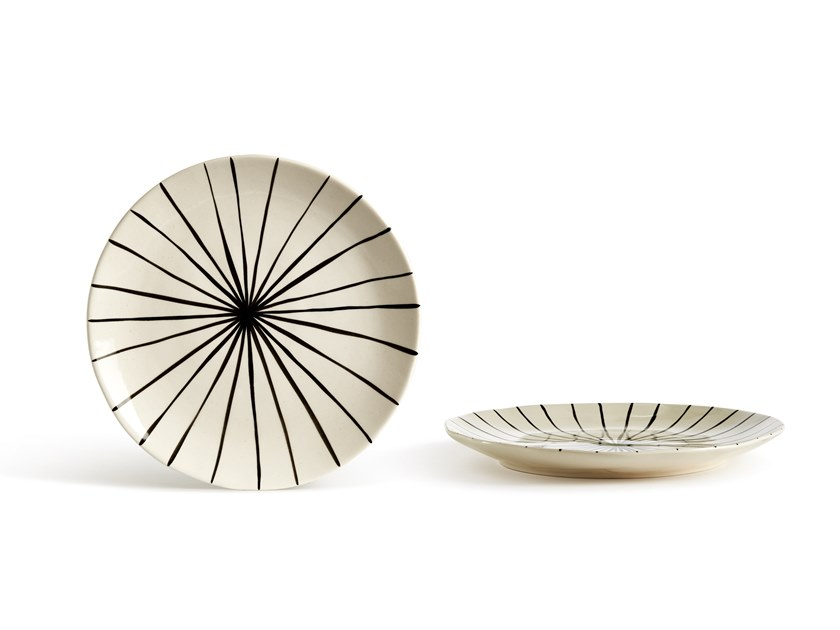 Porcelain stoneware plate CATALINA LINEA | Plate by Fill