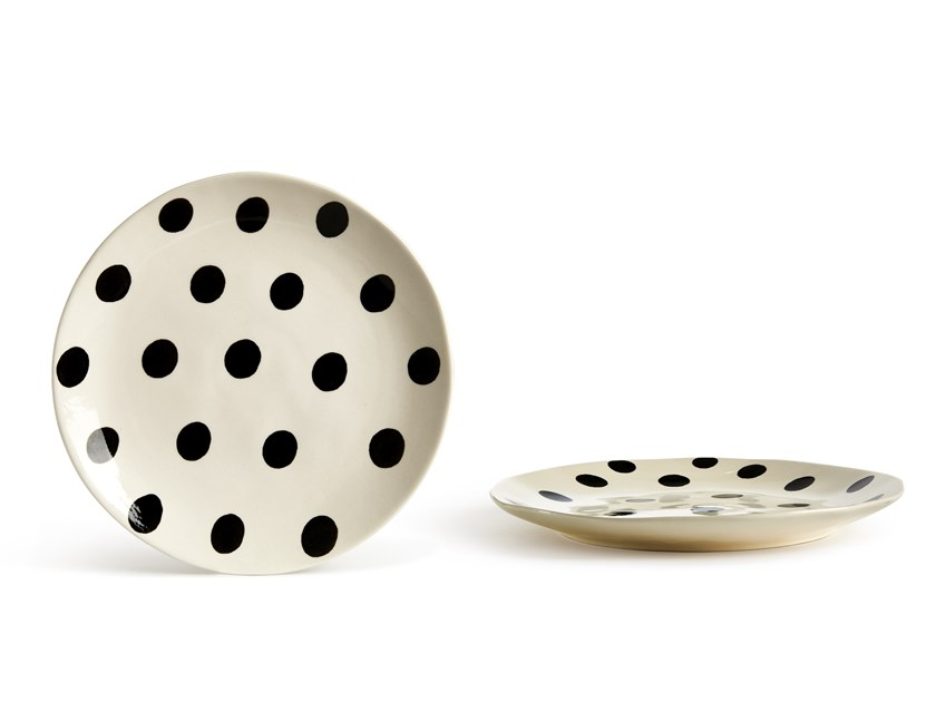 Porcelain stoneware plate CATALINA POIS | Plate by Fill