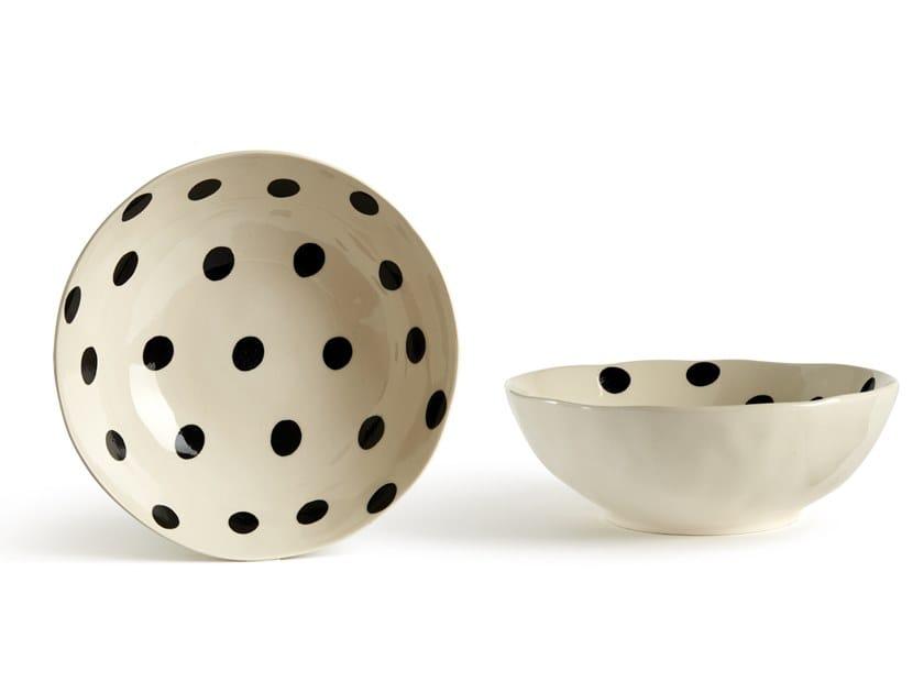 Porcelain stoneware salad bowl CATALINA POIS | Salad bowl by Fill