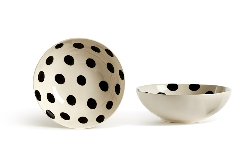 Porcelain stoneware serving bowl CATALINA POIS | Serving bowl by Fill