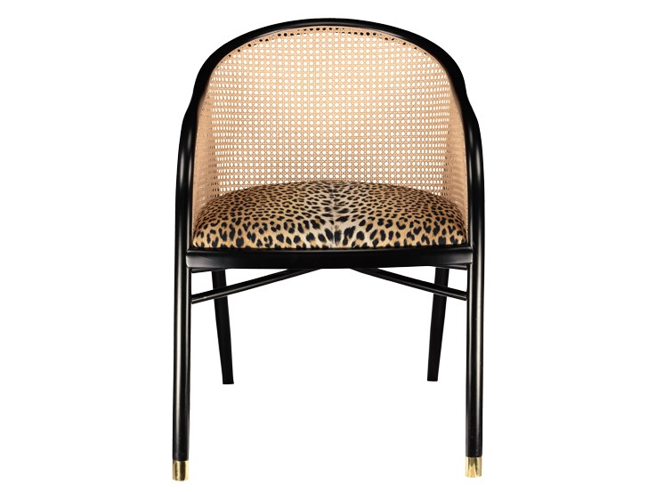 Beech armchair with cotton seat CAVALLO | Cotton armchair by The Socialite Family