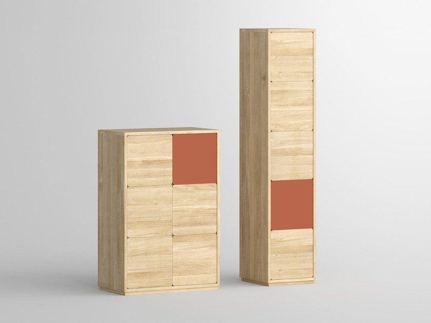 Solid wood highboard with doors CAVUS | Highboard by Vitamin Design