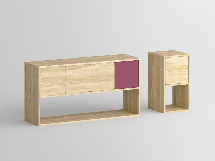 Solid wood sideboard with doors CAVUS | Sideboard by Vitamin Design
