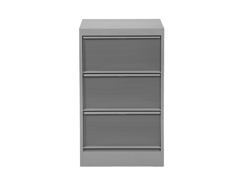 Perforated steel office drawer unit CC3 | Office drawer unit by Tolix