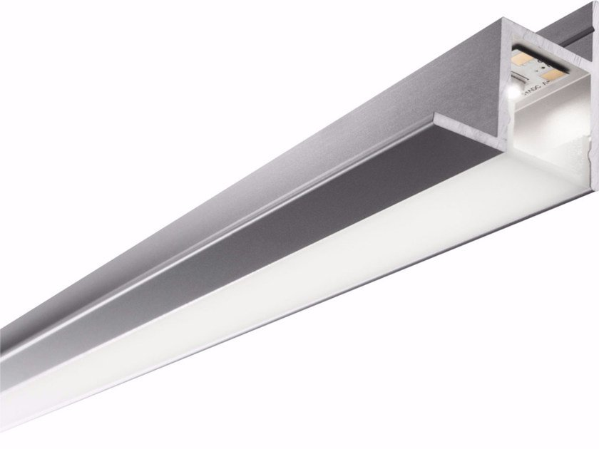 Aluminium Linear lighting profile for LED modules CEILING by GLIP by S.I.L.E