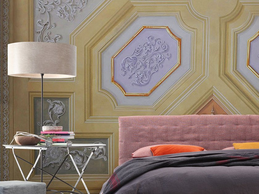 Motif panoramic wallpaper CEILING by Inkiostro Bianco