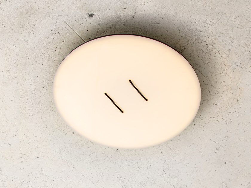 Acrylic wall lamp / ceiling lamp BUTTON C/W by ANDlight