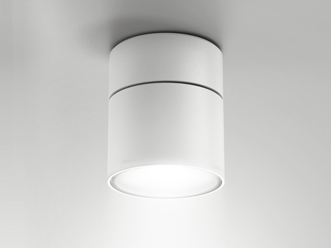 Aluminium ceiling lamp / spotlight NODE | Ceiling spotlight by Artemide