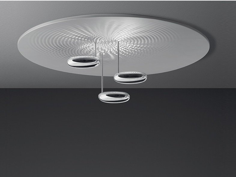 Indirect light die cast aluminium ceiling lamp DROPLET | Ceiling lamp by Artemide