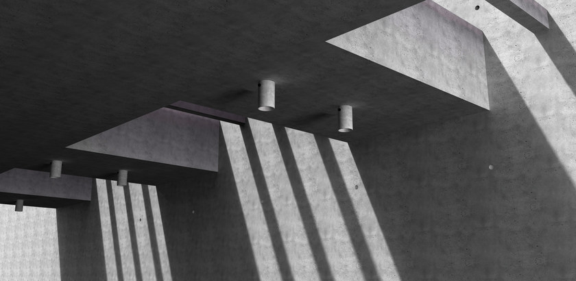 In Calcestruzzo Led Da LvLampada Bentu Soffitto Design A rdCoBex