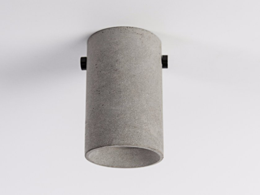 LED concrete ceiling lamp LV | Ceiling lamp by Bentu Design