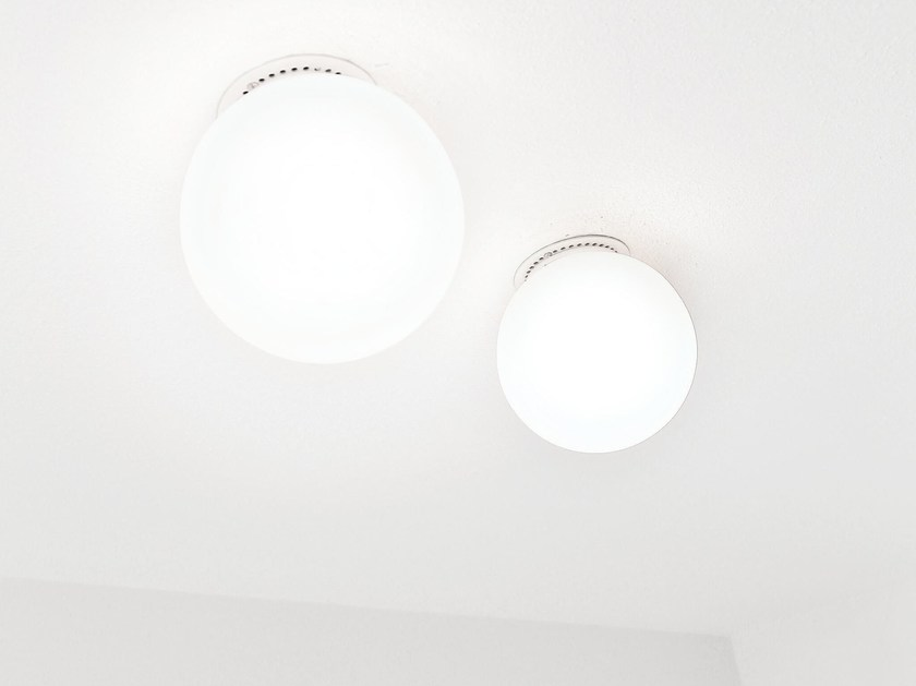 LED ceiling lamp ZBOWL | Ceiling lamp by Brillamenti