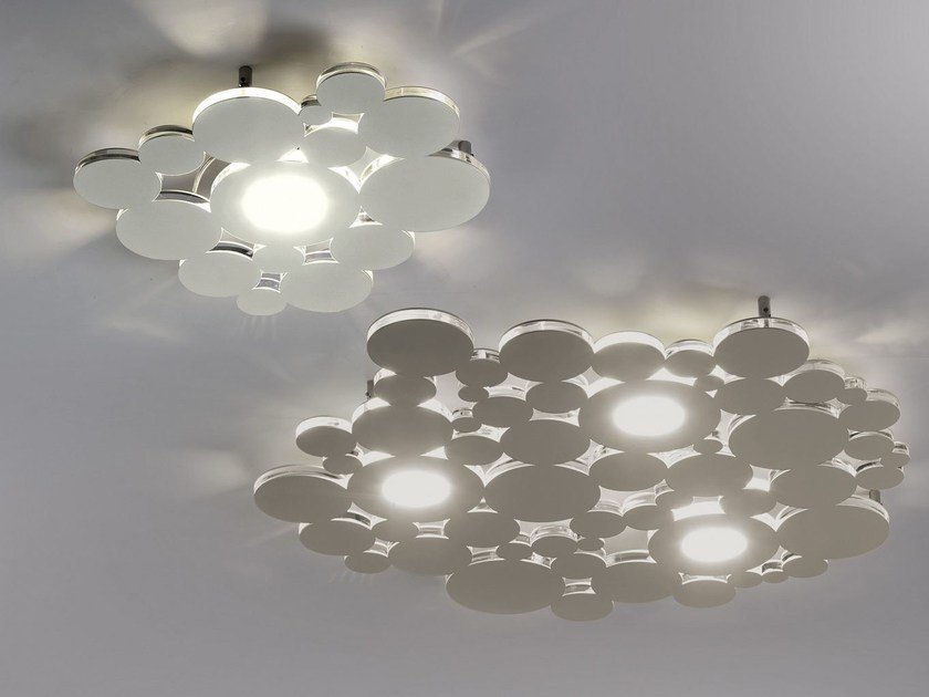 LED metal ceiling light BOLLE | Ceiling lamp by Cattaneo