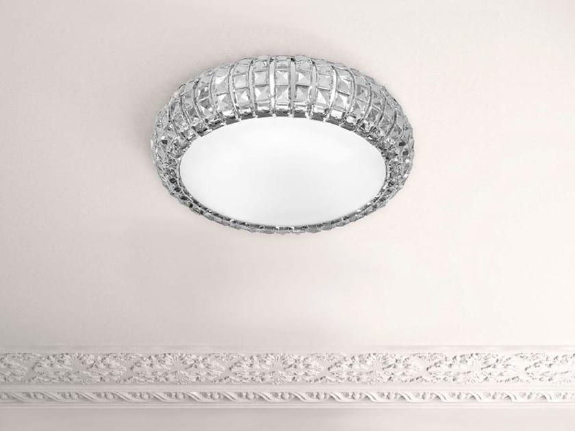 Plafoniera In Cristallo : Plafoniera in cristallo andromeda lampada da soffitto collezione