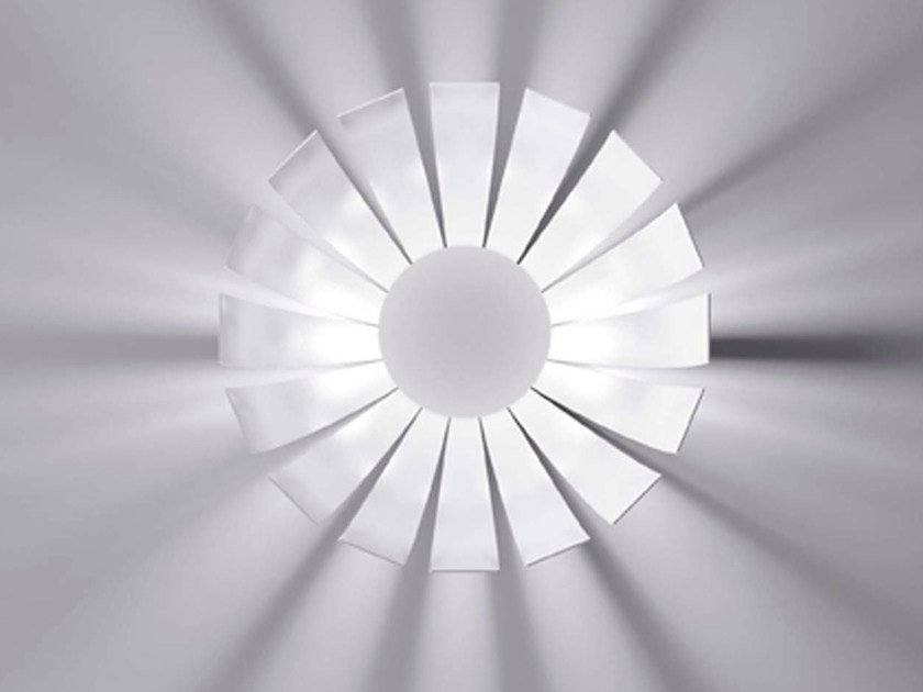 LED metal ceiling lamp LOTO | Ceiling lamp by Marchetti