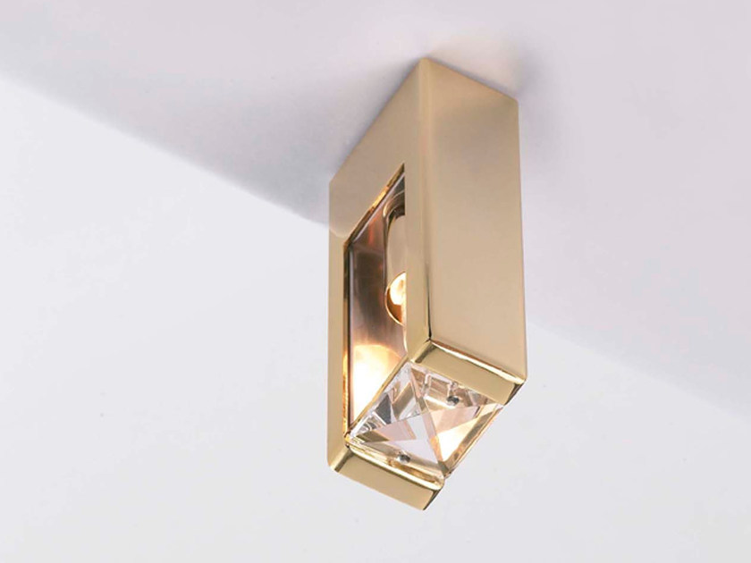 marchetti lighting. Metal Ceiling Lamp With Crystals LYRA   By Marchetti Lighting