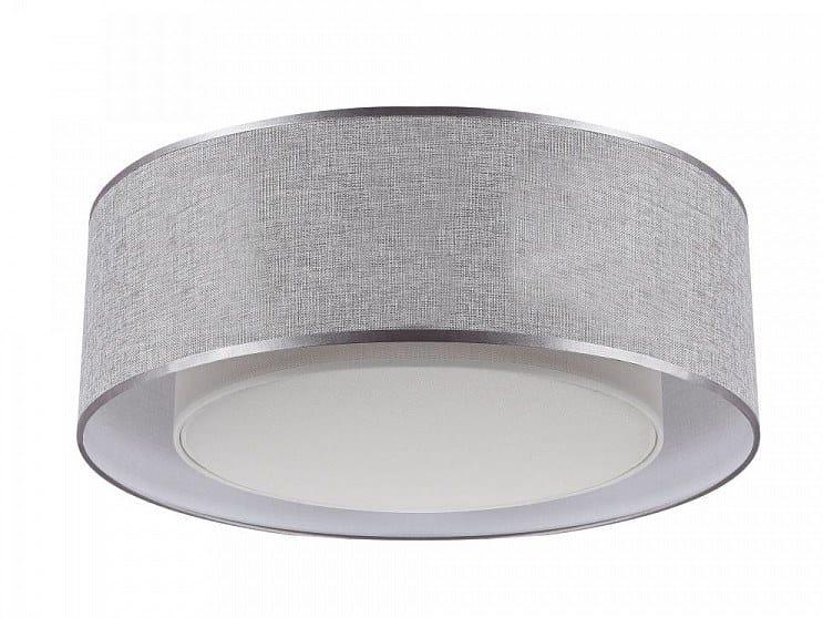 Linen ceiling light BERGAMO | Ceiling lamp by MAYTONI