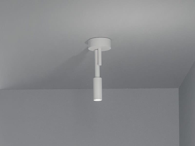LED adjustable aluminium ceiling lamp TUBINO   Ceiling lamp by PANZERI