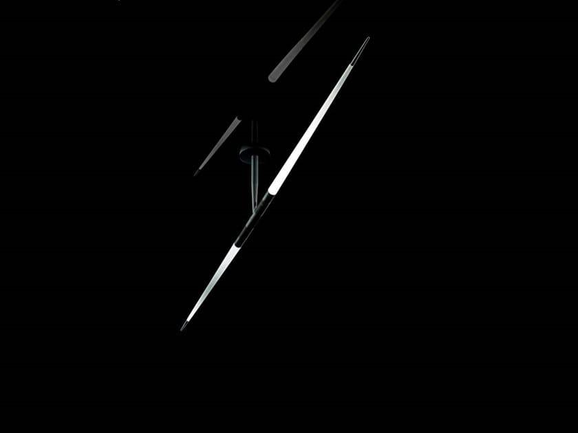 LED methacrylate ceiling lamp JAVELOT MACRO | Ceiling lamp by LUCEPLAN