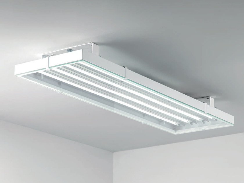 LED direct light steel ceiling lamp COOL | Ceiling lamp by PLEXIFORM