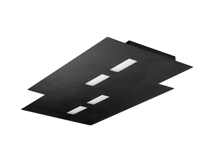 LED aluminium ceiling lamp PONYO | Ceiling lamp by Rossini Illuminazione