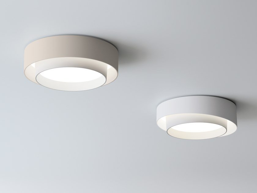 LED ABS ceiling lamp CENTRIC   Ceiling lamp by Vibia