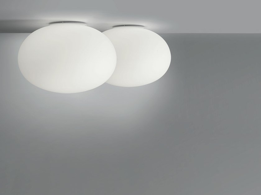Blown glass ceiling light MERCURY | Ceiling light by Cattaneo